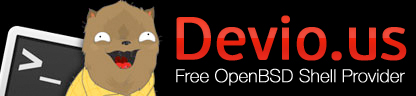 Devio.us Free OpenBSD Shell Provider